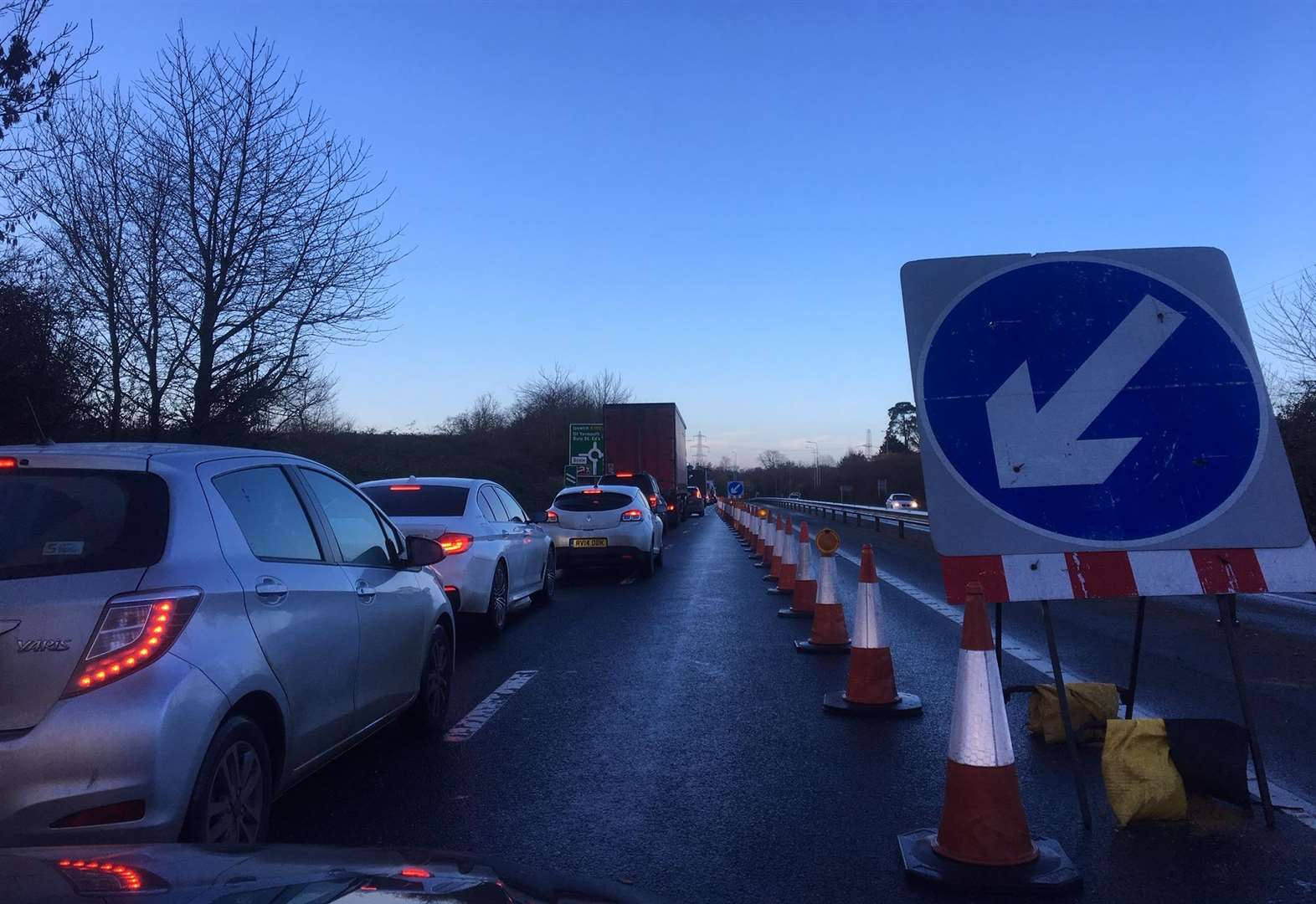 Multiple roadworks cause severe delays on the A140 and surrounding villages