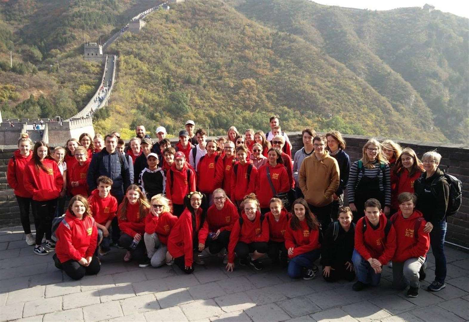 Long Stratton High School students enjoy trip of a lifetime