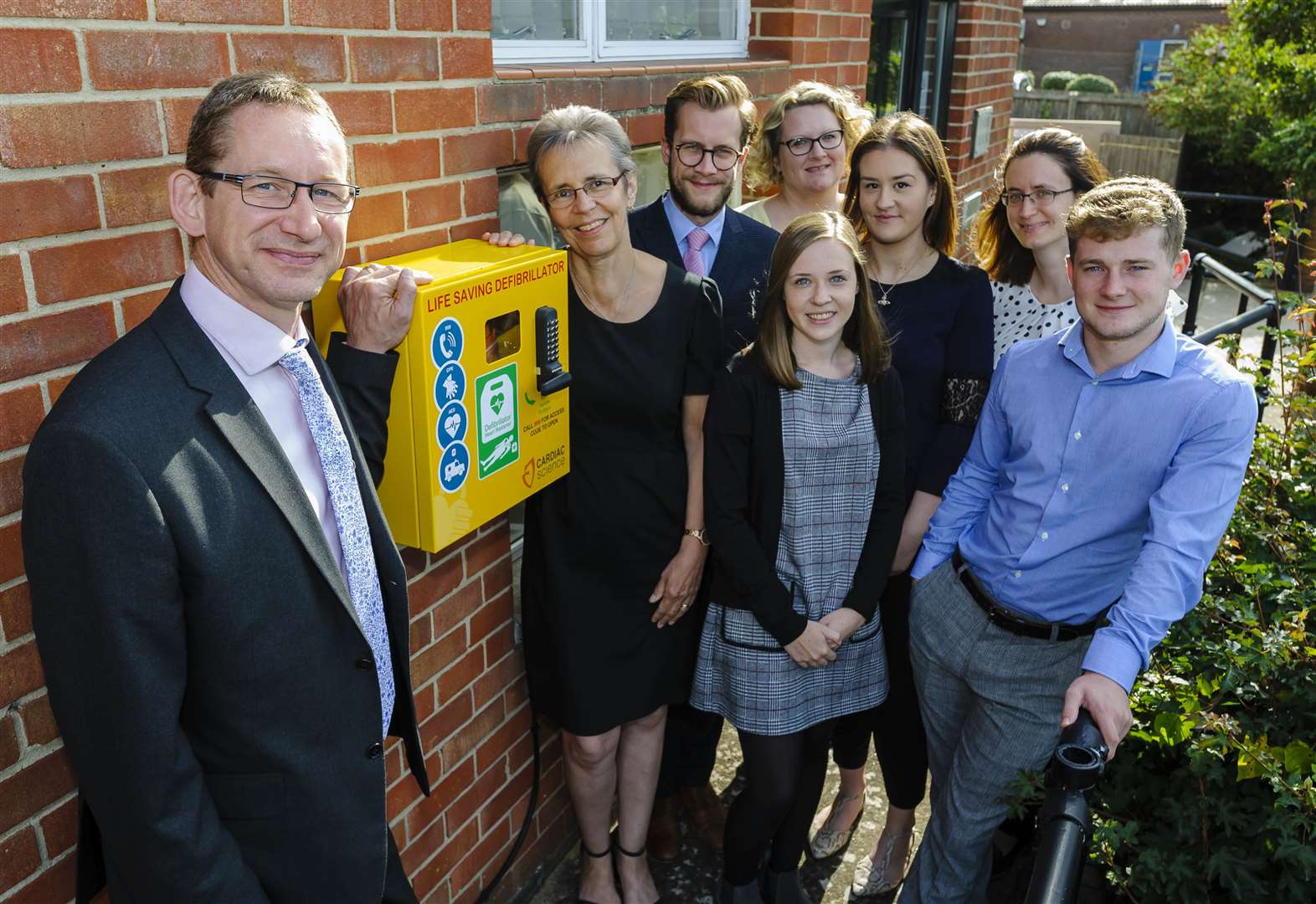 New life-saving defibrillator brings total to five