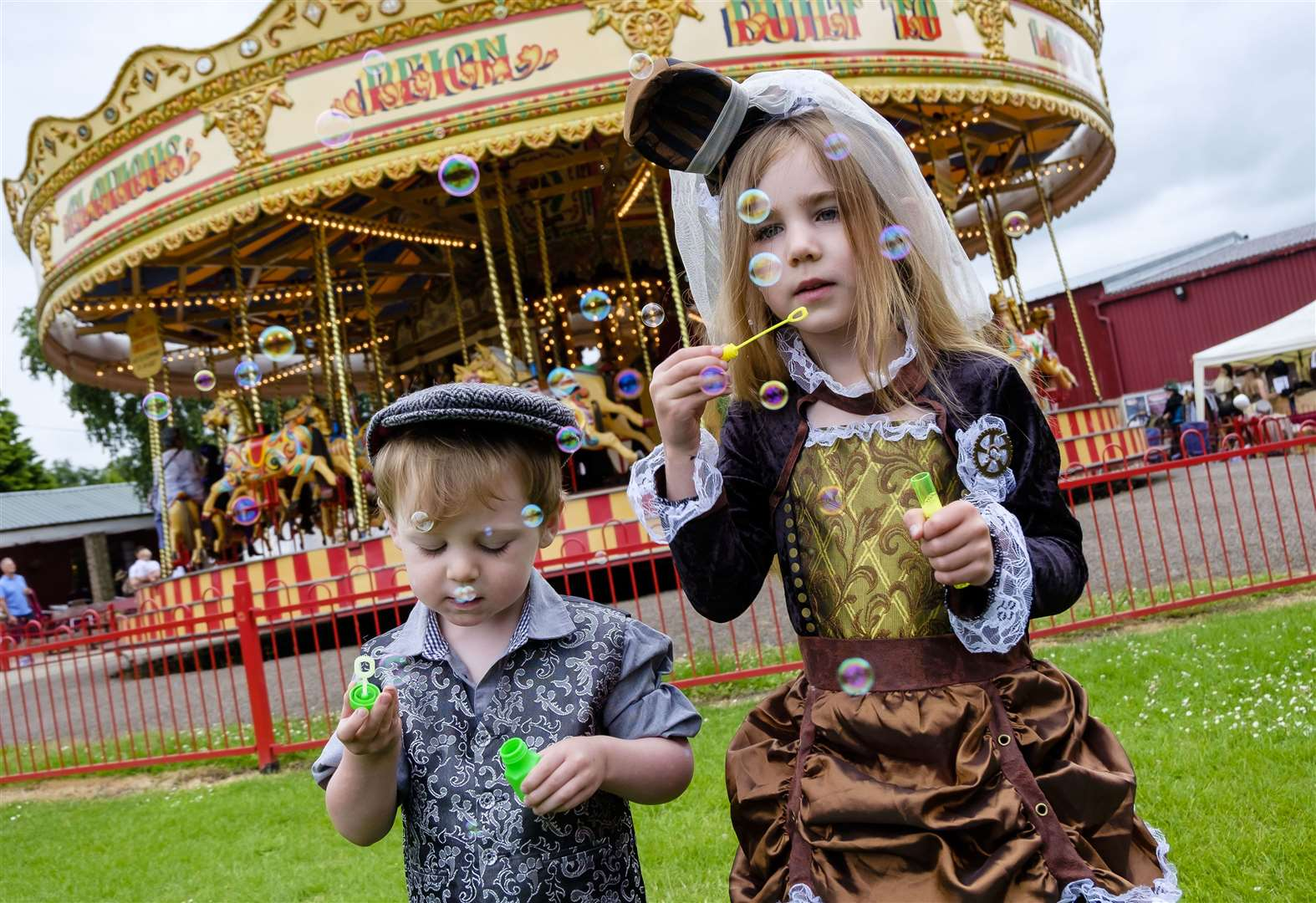Tea duelling takes the biscuit at Steampunk weekend