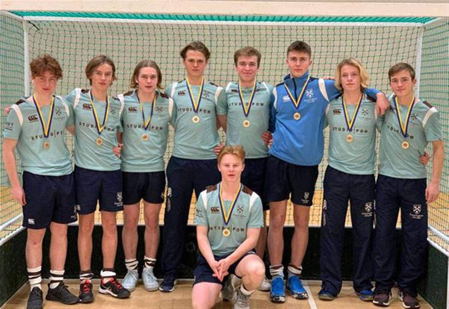 Record-breaking year for Framlingham's rising hockey stars
