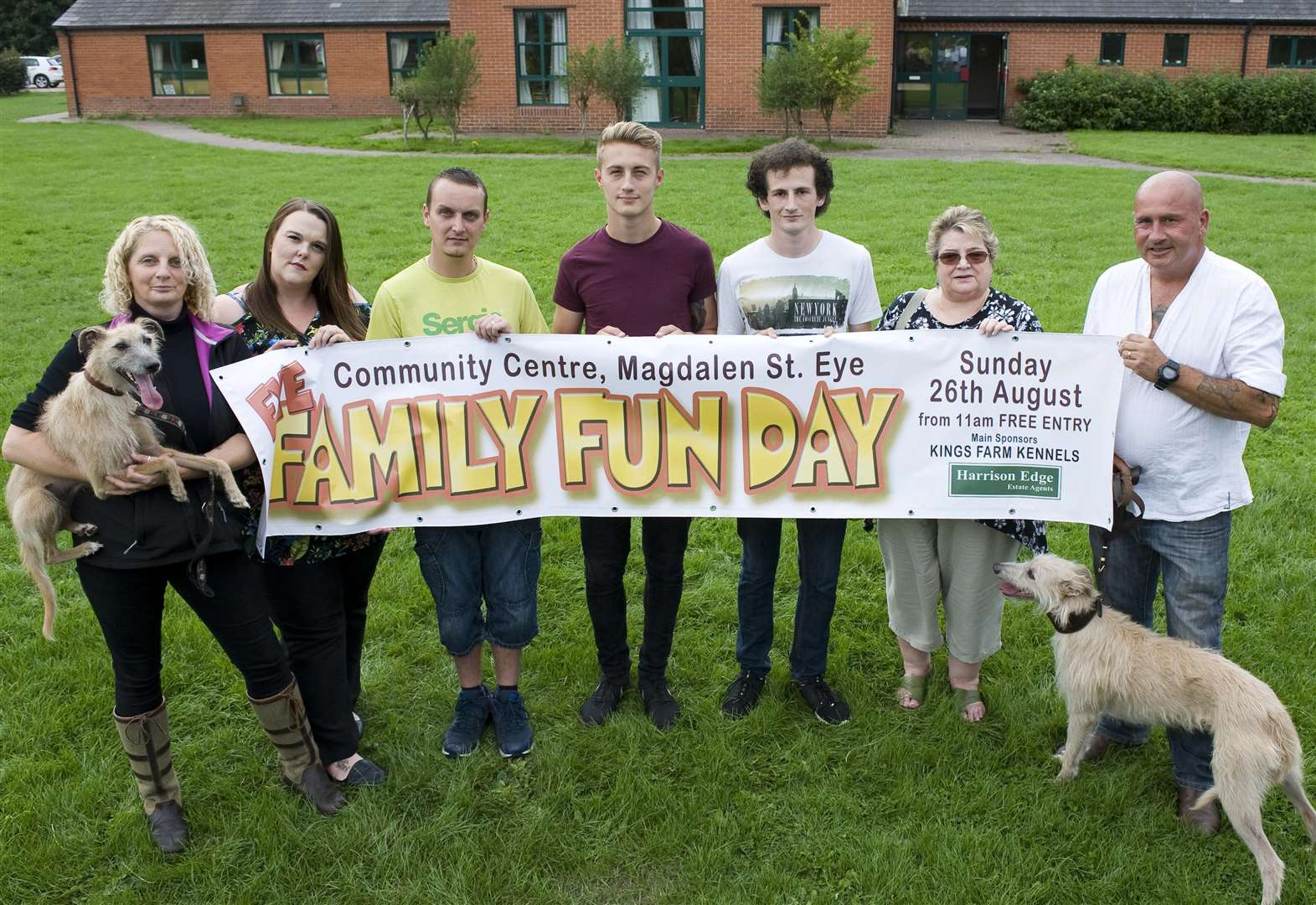 Call for volunteers to help with Eye Family Fun Day