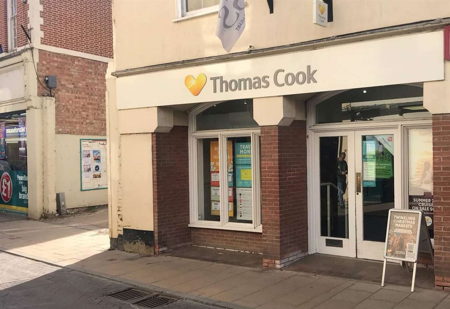 Former Thomas Cook branch reopens in Diss
