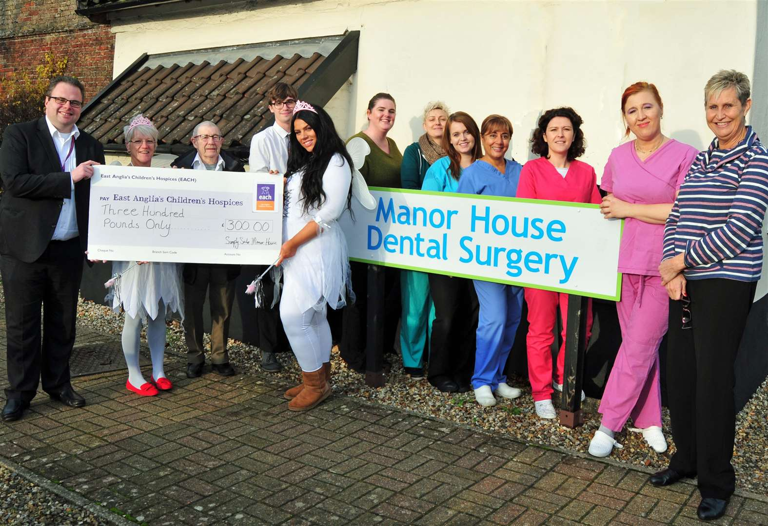 Tooth fairies give charity cash injection
