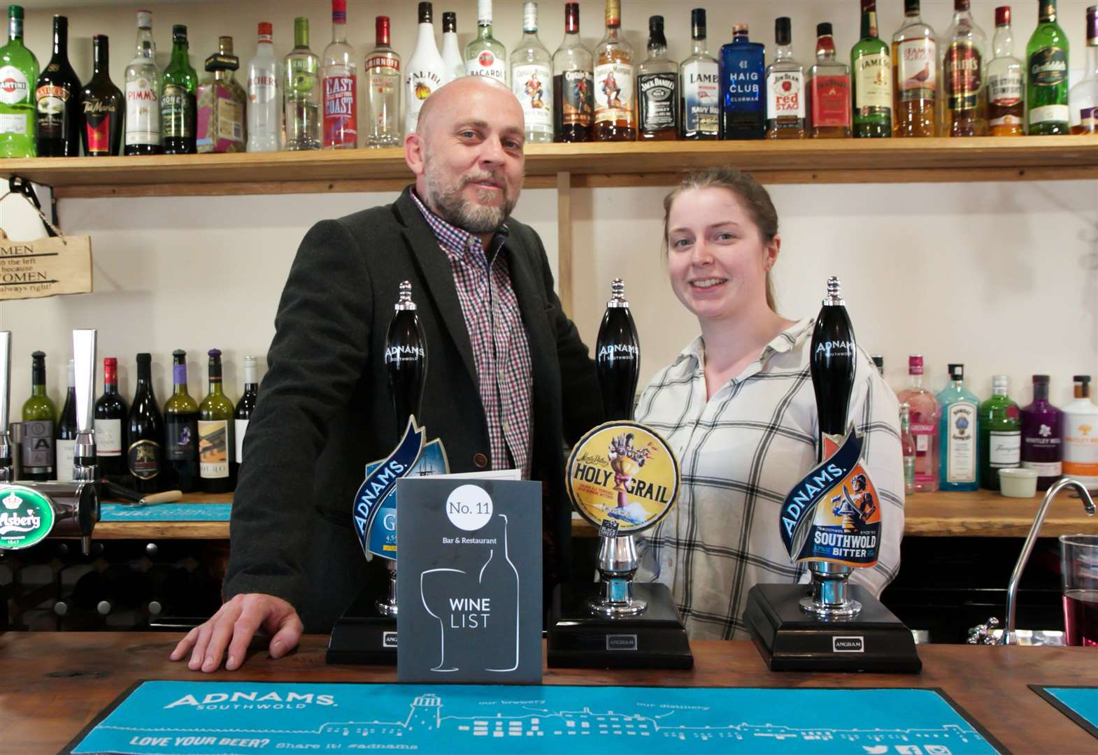 Diss bar and restaurant marks first year by opening beer garden