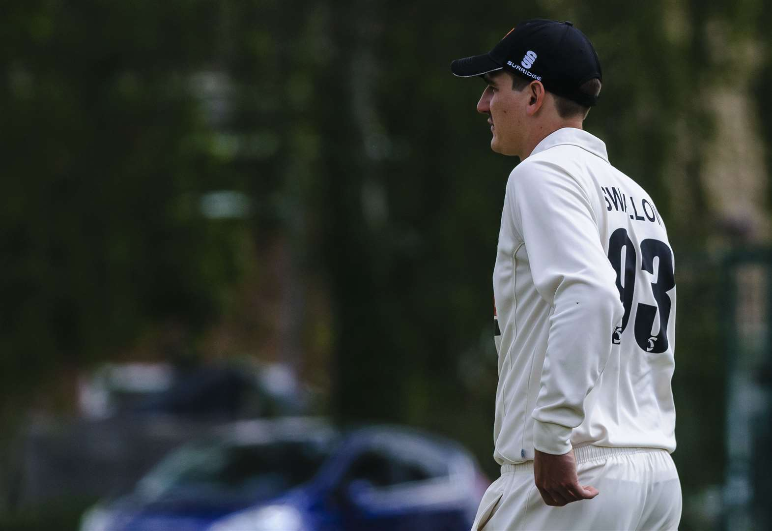 Diss' Swallow is thoroughly enjoying first England stint