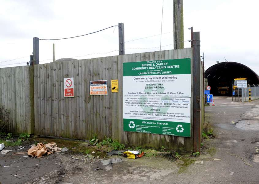 Brome and Oakley Community Recycling Centre ANL-160302-144159009