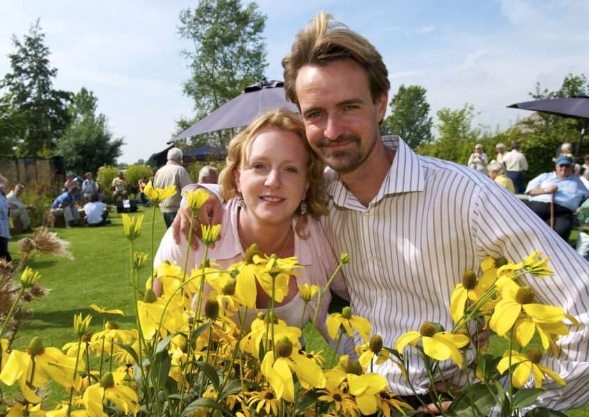 Langmere, Norfolk. Plant fair at Blacksmiths Cottage Nursery - Sarah and Ben Potterton ENGANL00120110509105759