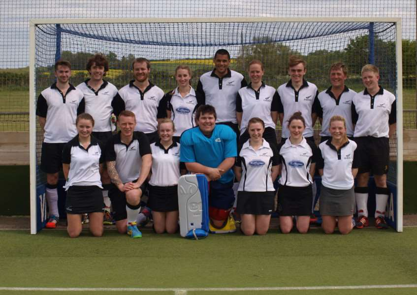 FINAL COUNTDOWN: Harleston Magpies Hockey Club who are in the finals of the National Mixed Trophy