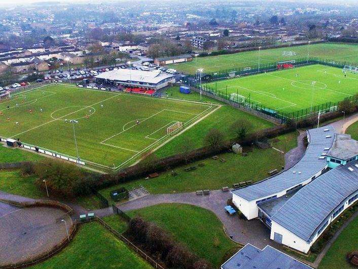THE NEW CROFT: The HCSA are landlords of the site that is home to both Haverhill Rovers and Borough as well as a host of youth teams
