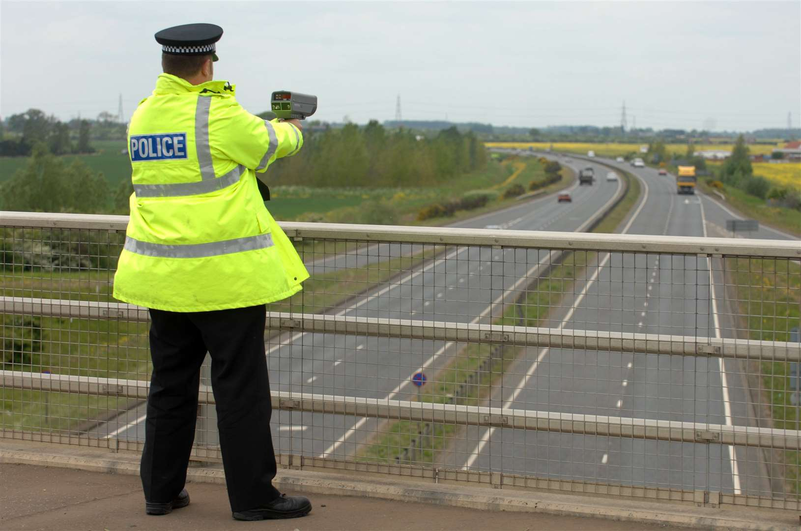 Police caught a total of 4,124 motorists in Norfolk and Suffolk speeding during a two week campaign.