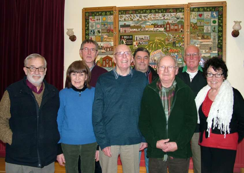 Members of the Beckvale Community Car Scheme, which serves Pulham St Mary and Pulham Market.