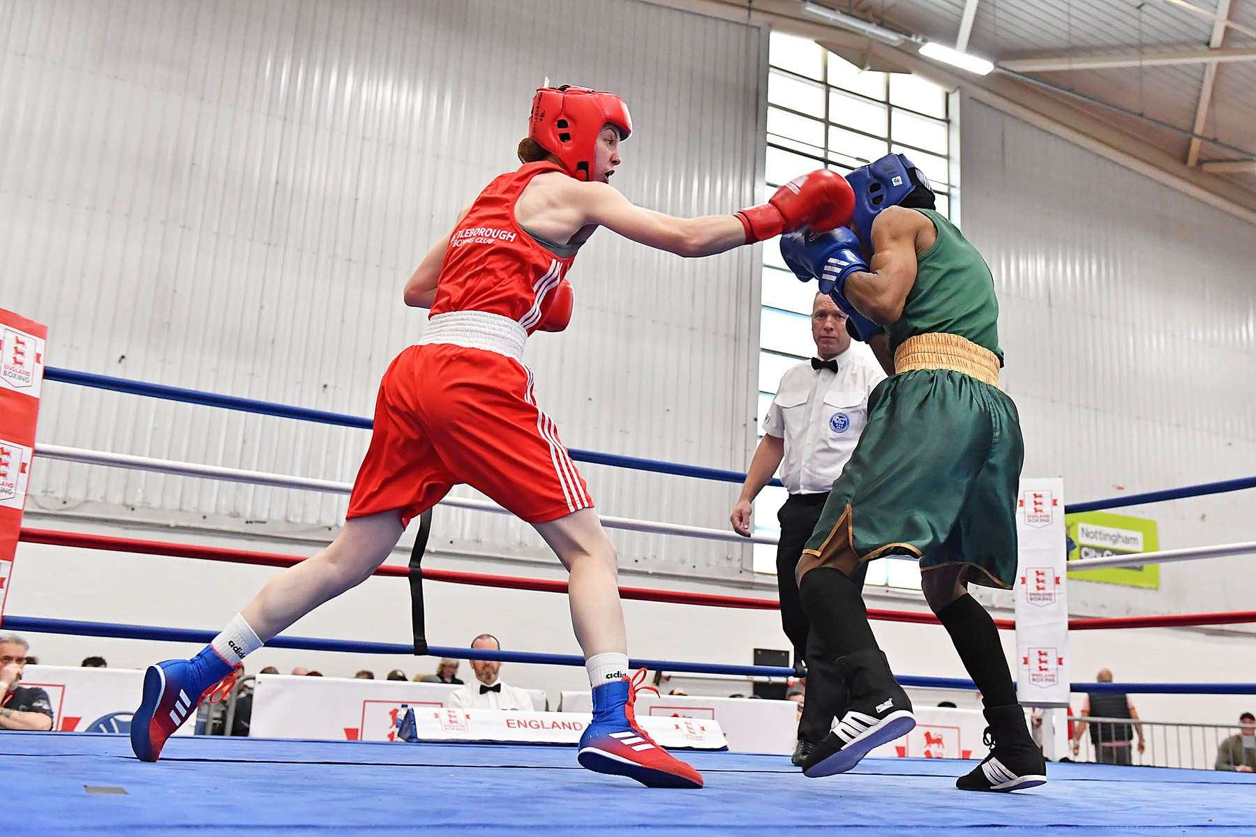 Attleborough Boxing Club's Charley Davison. Picture: Andy Chubb (8819492)