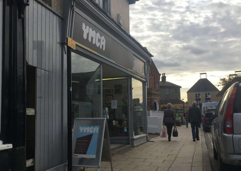 The YMCA charity shop is set to close its doors.