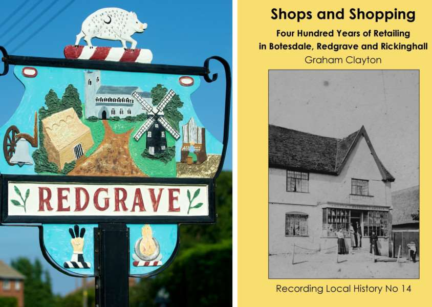 Quatrefoil has announced the launch of a new book, Shops and Shopping - Four Hundred Years of Retailing in Botesdale, Redgrave and Rickinghall. Submitted picture.