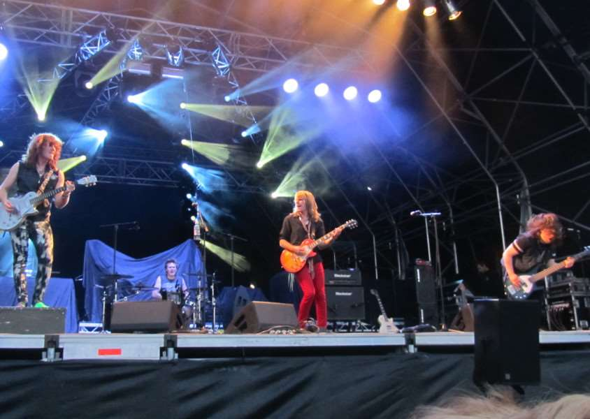 Walkway, a rock band from Redgrave, performed in front of more than 8,000 in support of Status Quo at Holkham Hall. ANL-140827-093941001