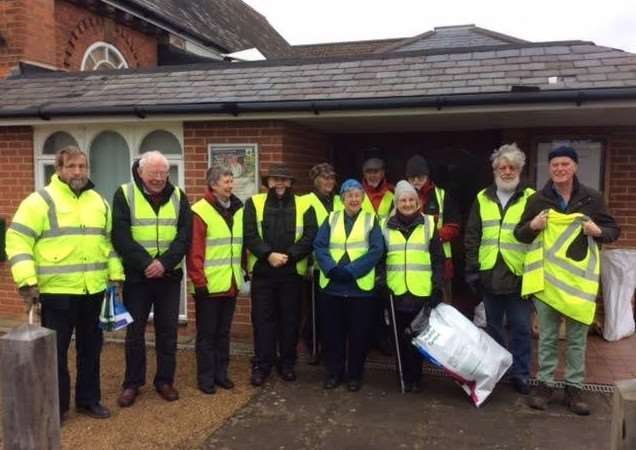 WINNERS: South Norfolk's Big Litter Pick 2017 collects thousands of bags of rubbish.