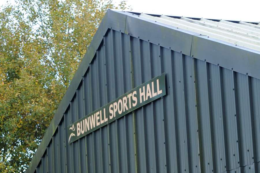 Arson attack on Bunwell Sports Hall ANL-161026-163011009