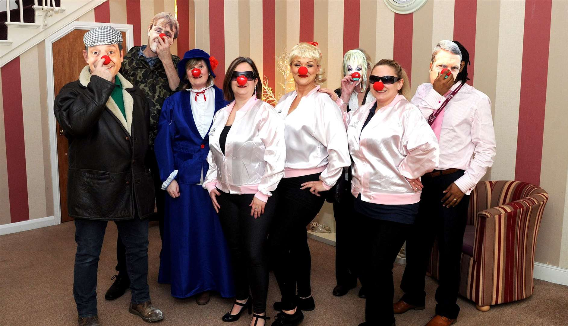 Oaklands Care Home staff with be dressing up as celebrities from the 60s, 70s and 80s. Picture: Mecha Morton