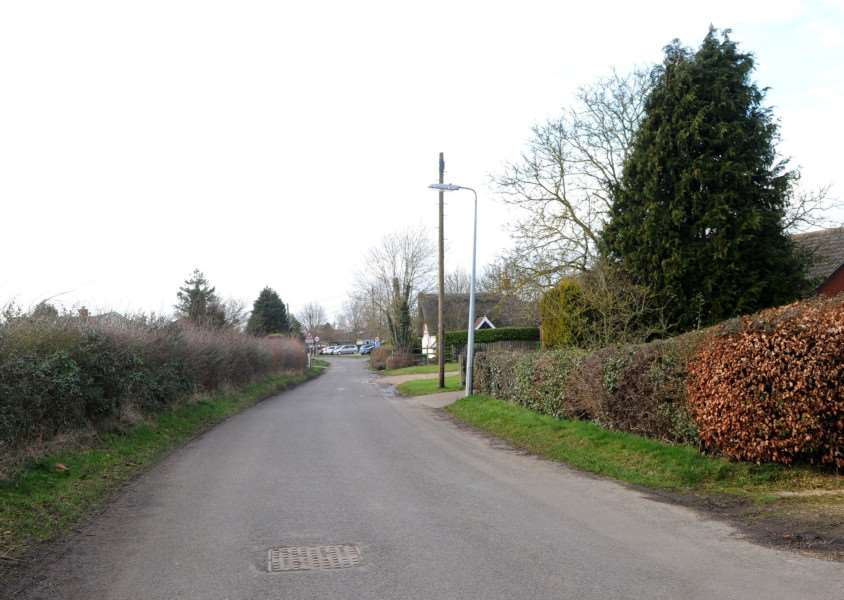 Harvey Lane in Dickleburgh