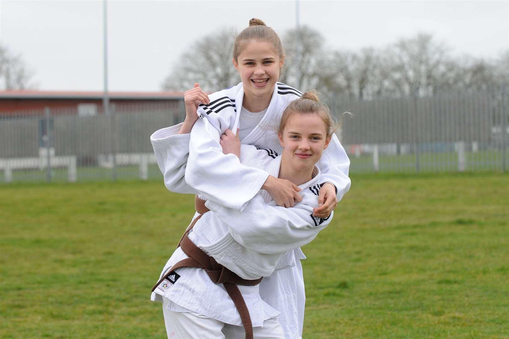 Eden and Niamh Southgate. Picture: Mecha Morton