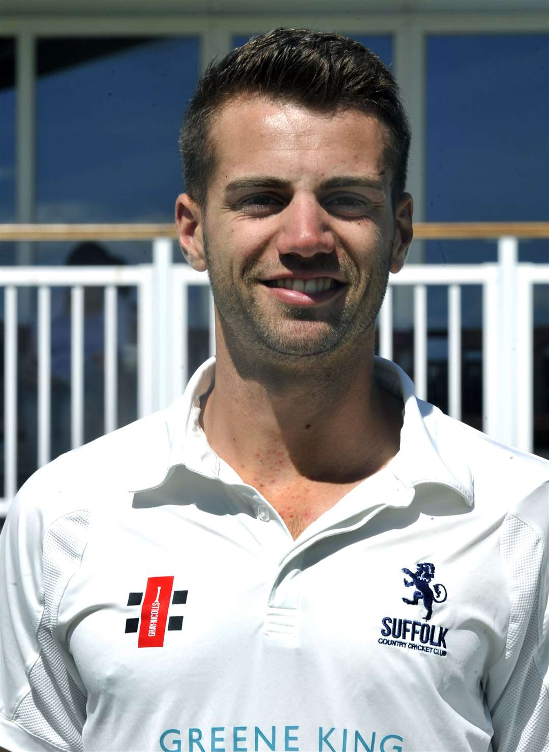 Matt Wareing pictured while playing for Suffolk CCC in 2017Picture: Andy Abbott (34839075)