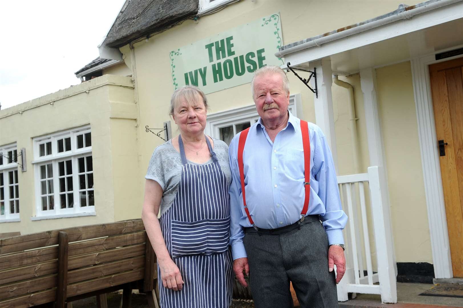 Sue and Egil Stenseth have put the The Ivy House Pub up for sale. Picture Mecha Morton