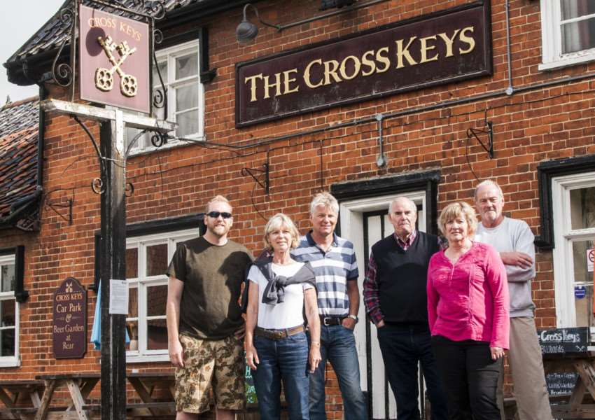 The Cross Keys Steering Committee is working to raise money to purchase The Cross Keys pub in Redgrave on behalf of the community.