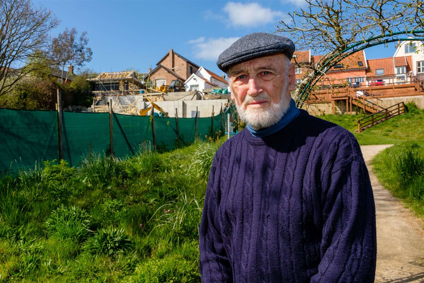 Brian Falk has claimed that the developments are at odds with South Norfolk Council's own planning policies. Picture: Mark Bullimore Photography.