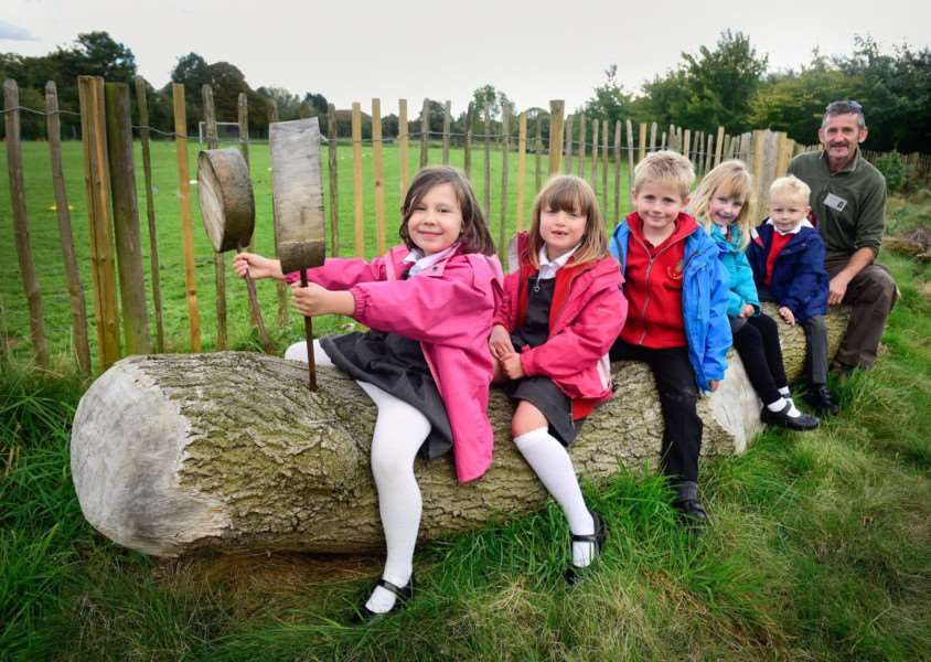 Banham Primary School has officially relaunched its revamped wildlife area.Angela Sharpe Photography.