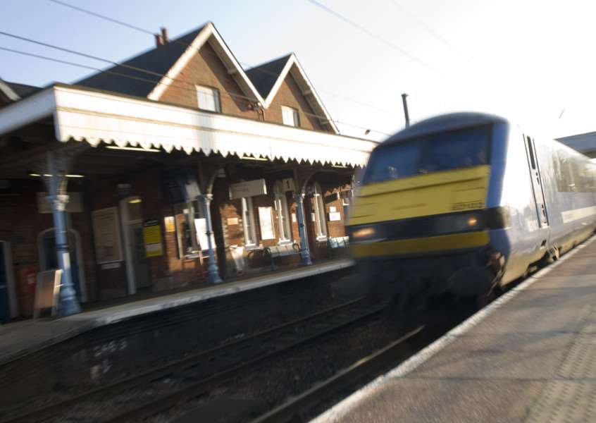 Diss, norfolk. Diss Train Station