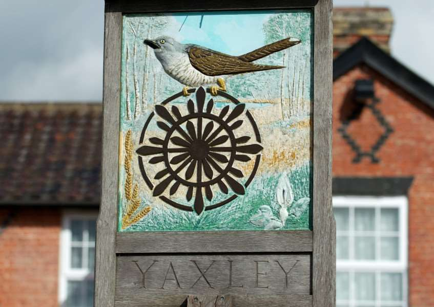 Village Signs - Yaxley ENGANL00120121029161846