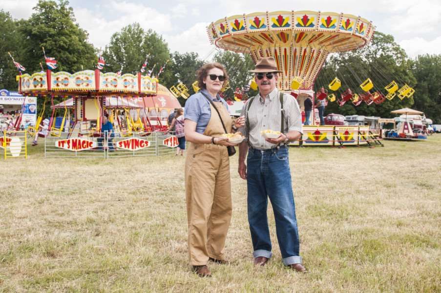 Journey Through The Ages : Vintage Rally and Country Fair at Palgrave.