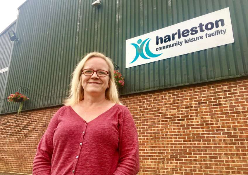 Frances Bickley, chairman, Redenhall with Harleston Town Council