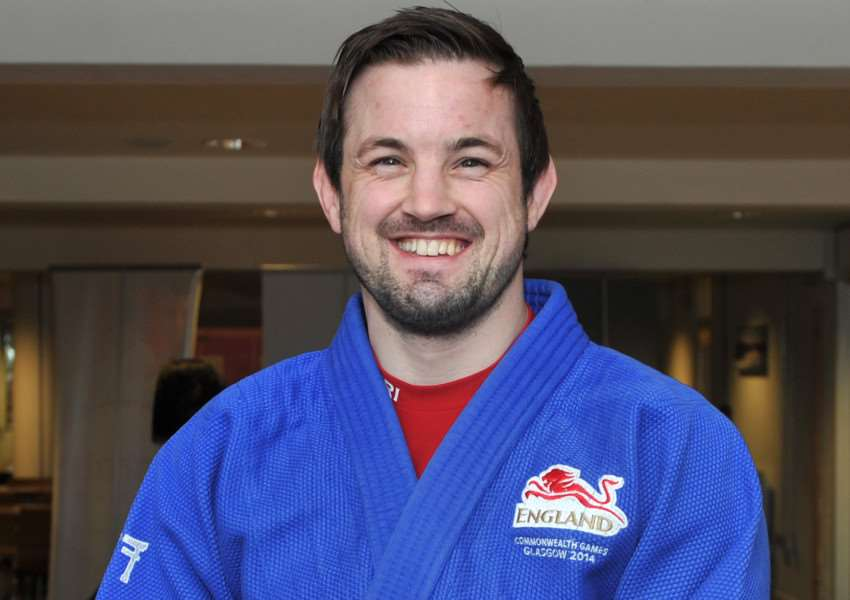VALUABLE POINTS: North Lopham judo ace Colin Oates