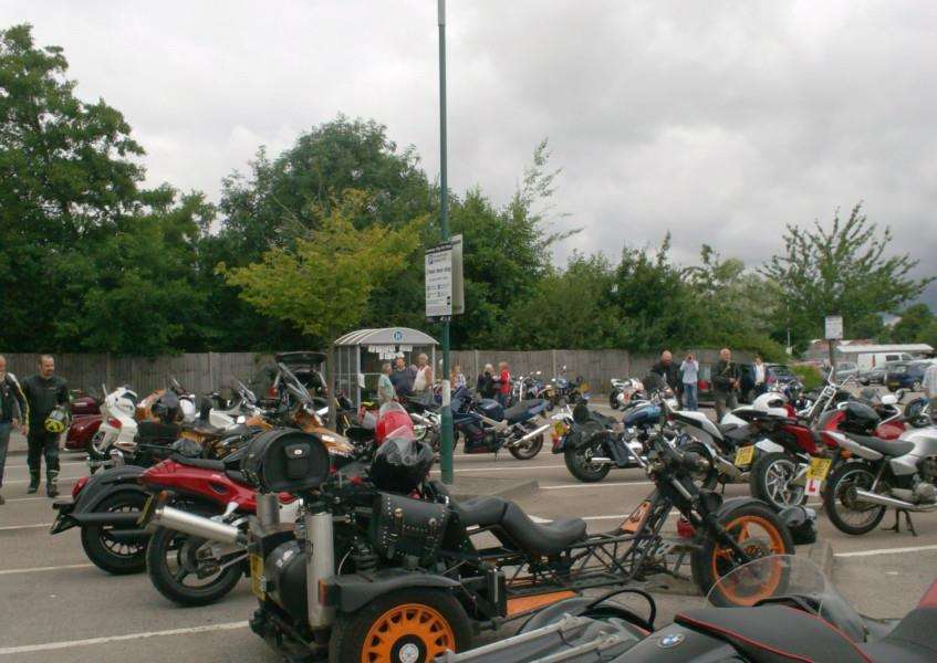 A charity motorcycle ride, from Diss to Old Buckenham, has raised more than �1,800 for The Brain Tumour Charity. Submitted photo.