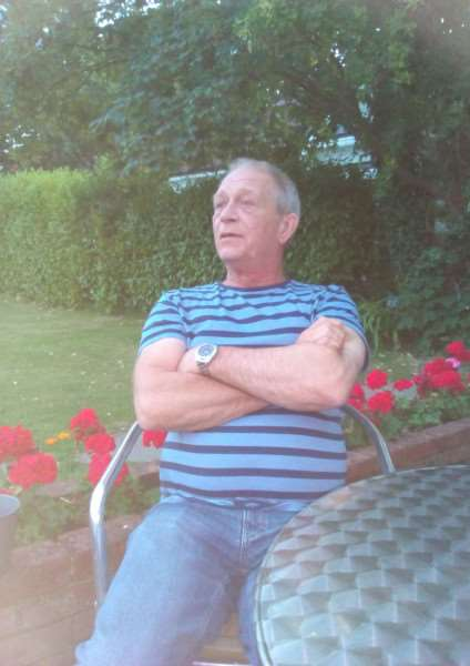 Ted Churchard, of Burston, has been diagnosed with brain cancer. Submitted photo.