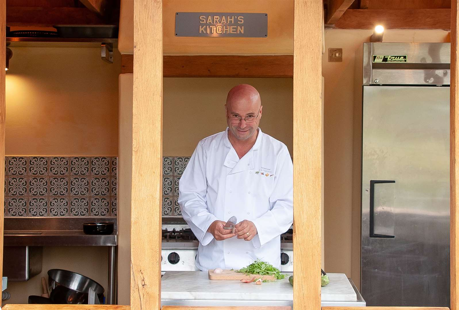 Simon Beckett-Allen is launching the book Cooking for One in memory of his sister, Sarah, a chef. Picture: Contributed