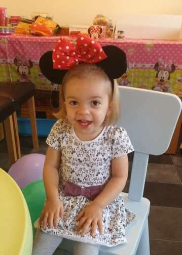 Paige Scott, 2, of Attleborough. ANL-150625-092738001
