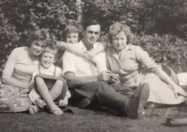 Alfred Zelke, his wife Paulina, and his daughters Anna, Alfreda and Kristina. Supplied photo.