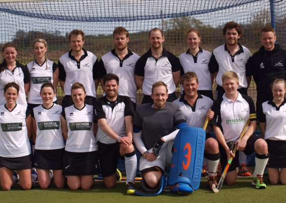 GOING FOR GLORY: Members of the Harleston Magpies Mixed Team. (Back row from left): Maria Andrews, Lucy Whiting, Dickon Taylor, Simon Hipwell, Sam Moore, Frances Taylor, Richard Larkin, James MeekFront. Front row L-R: Lauren Mickleburgh, Lizzie Clymer, Katrina Sitch (vice-captain), Robbie Kinsella, John Livings (GK), Andrew Bedwell, Leigh Sitch (captain), Lauren Barber