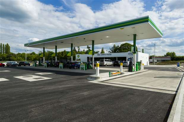Ongoing power supply problems dog new BP station at Stuston
