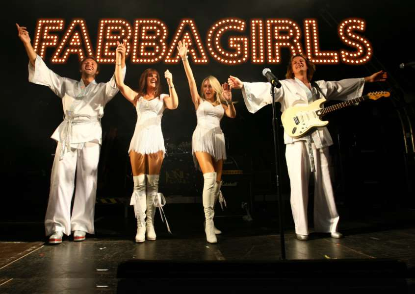 The Fabbagirls will headline on the Saturday night at the event, raising money for Action Medical Research. ANL-150906-141524001