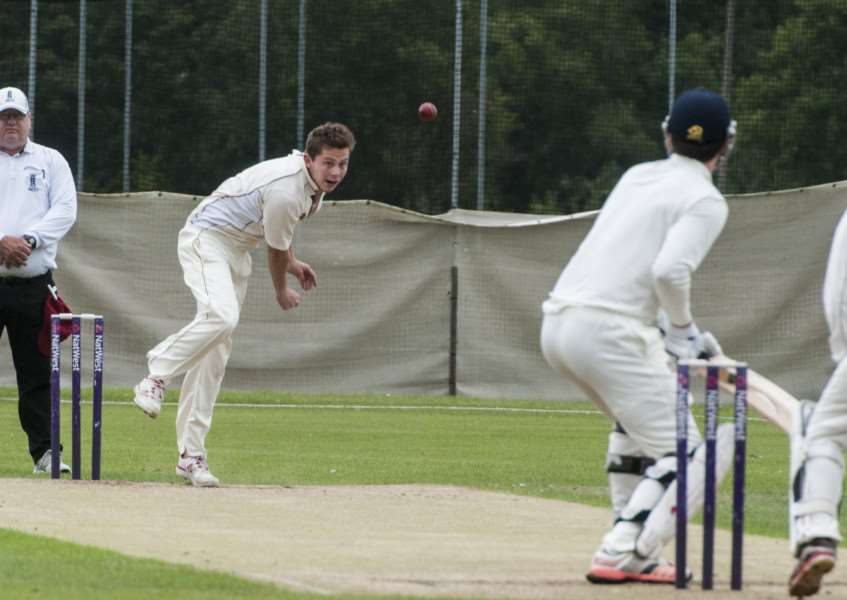 TOUGH TIMES: Despite strong bowling by Garby, including Alex Hogg, the team were unable to beat Fakenham