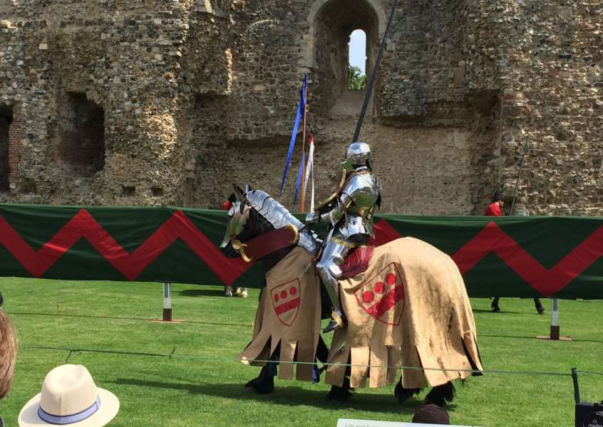 The champion of the east who jousted at Framlingham Castle