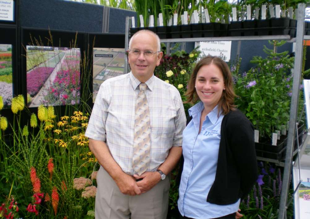 David and Christine Howard of Howard Nurseries in Wortham