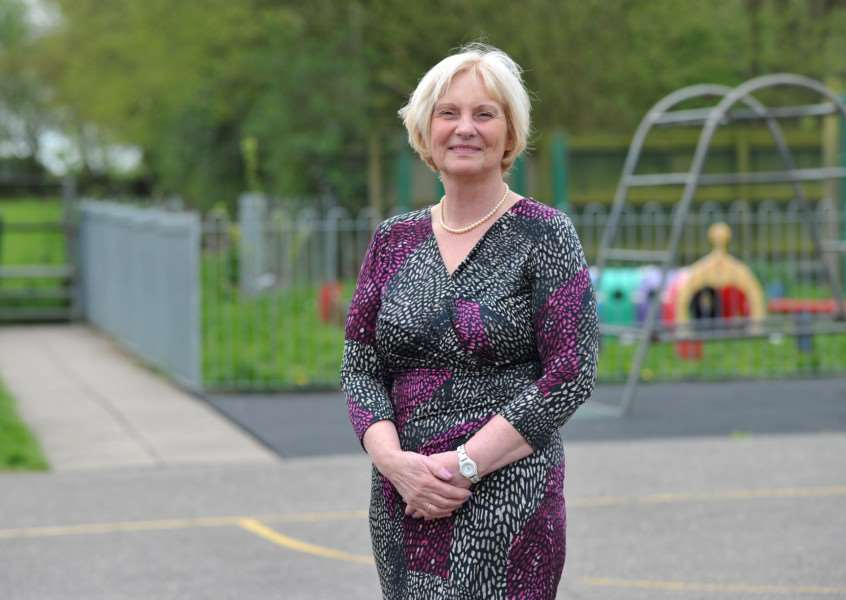 Tivetshall Primary recently rated 'Good' at Ofsted.''Pictured: Carol Green, executive headteacher ANL-150429-153208009