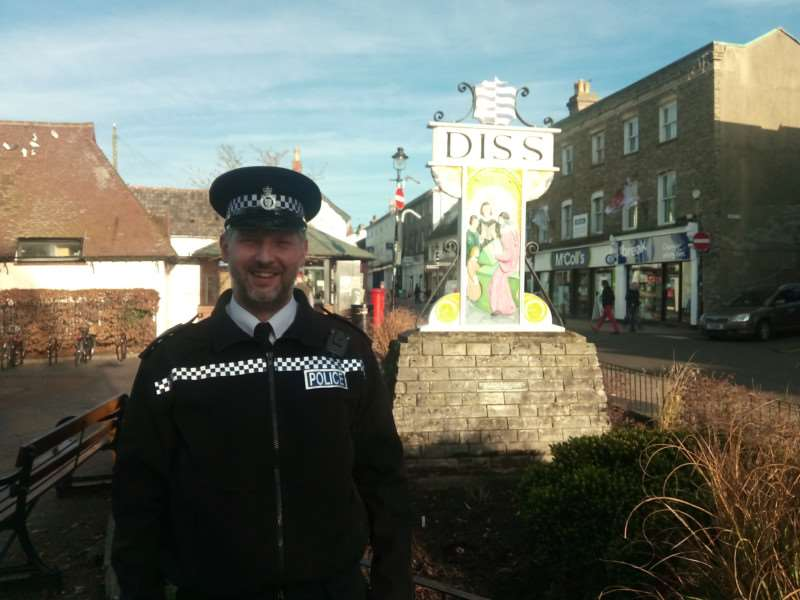 South Norfolk Engagement Officer Jim Squires.