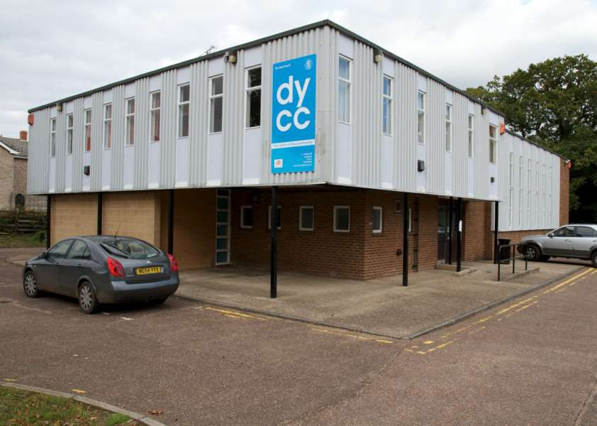 Diss, Norfolk. Diss Youth and Community Centre on Shelfanger Road ENGANL00120121010180036