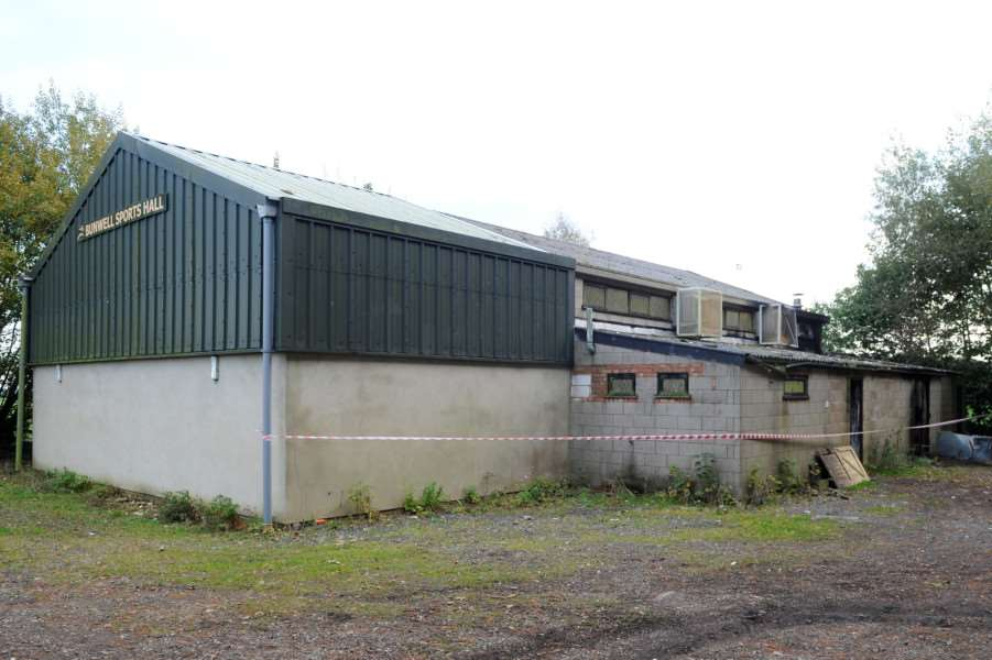 Arson attack on Bunwell Sports Hall ANL-161026-163000009